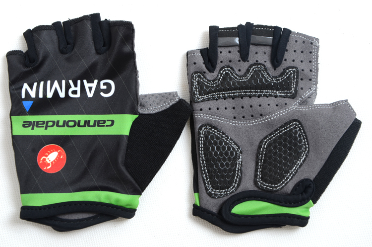 New 2015 CANNOND Cycling Gloves/ Bike Gloves Cycling Bike Bicycle Gel Shockproof Sports Half Finger Gloves Outdoor Sports Gloves(China (Mainland))