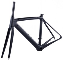 Buy New 2017 Hot Sale Road Bike Carbon Frame Fork Headset 780g Super light Full Carbon Road Frame Carbon Bicycle Frame for $298.50 in AliExpress store