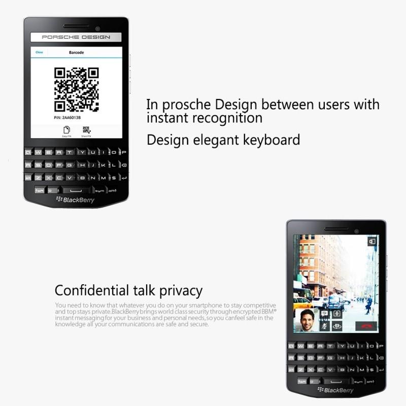 New Original BlackBerry P9982 4.2 inch TFT Screen BlackBerry OS 10.2 3G Smartphone Dual Core ROM 64GB RAM 2GB DHL Free Shipping