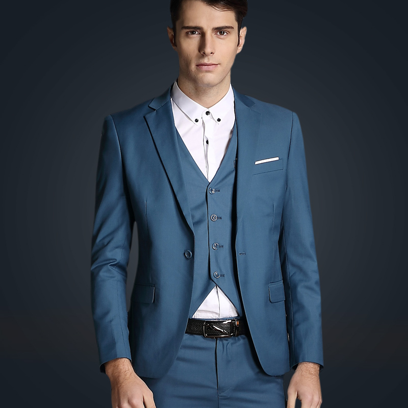Fashion solid color business casual suits men england style Mens Clothing outerwear tuxedo wedding suits for men /TZ43Одежда и ак�е��уары<br><br><br>Aliexpress