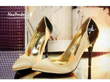 Ladies pointed toe shoes shallow mouth women's colorant match sexy high-heeled shoes single shoes 2013