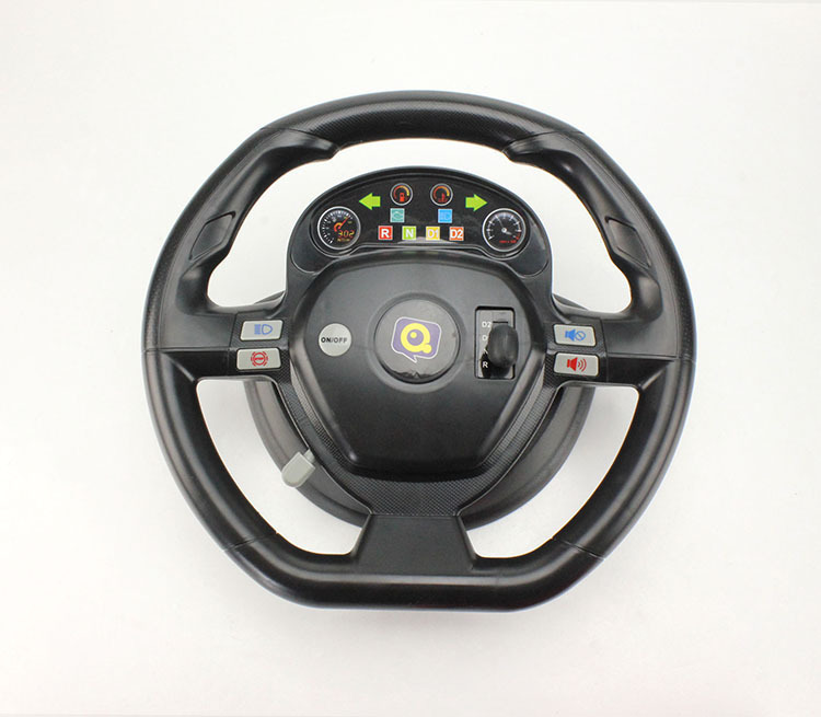free shipping accelerometer dynamic steering wheel 4ch remote control car 118 with music electric