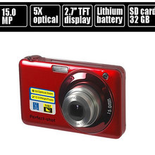 "15.0MP mega pixls Optical zoom digital camera with 2.7"" LCD Screen 5X optical zoom Face Detection Video function(China (Mainland))"