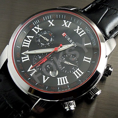 10PCS New Black Fashion Business Man Mens Casual Analog Dress Quartz Wrist Watches<br><br>Aliexpress
