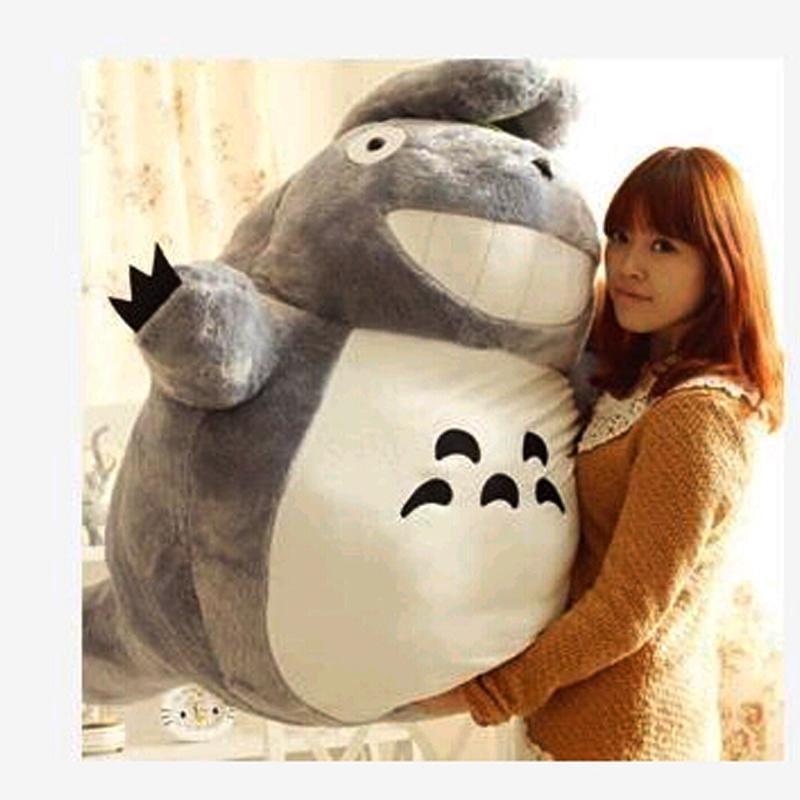1pc 20CM Totoro Toys Plush Doll Animation cartoon cute smile Japanese anime miracle Chinchilla totoro toy(China (Mainland))