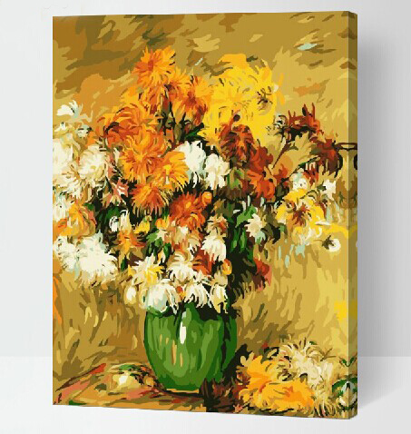 Sunflower Paint by Number Kit Diy Paint by Number Kit