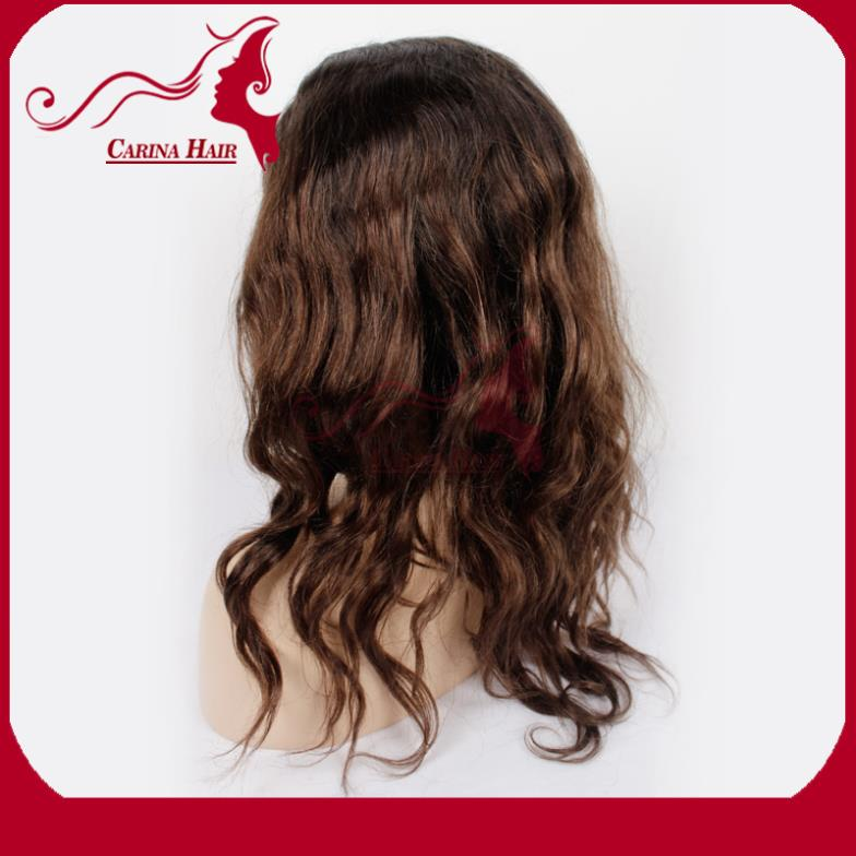 Stock Two tone #1bT/#4T Ombre glueless full lace wigs & front lace wig glueless with baby hair natural hairline for black women(China (Mainland))