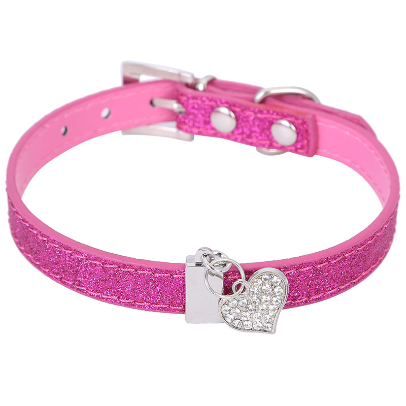 Bling Leather Collars For Dogs