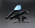 Motorcycle mirrors and mounting adapter ALL aluminum for YAMAHA YZF1000 R1 2002 2003 R1 2004 2006