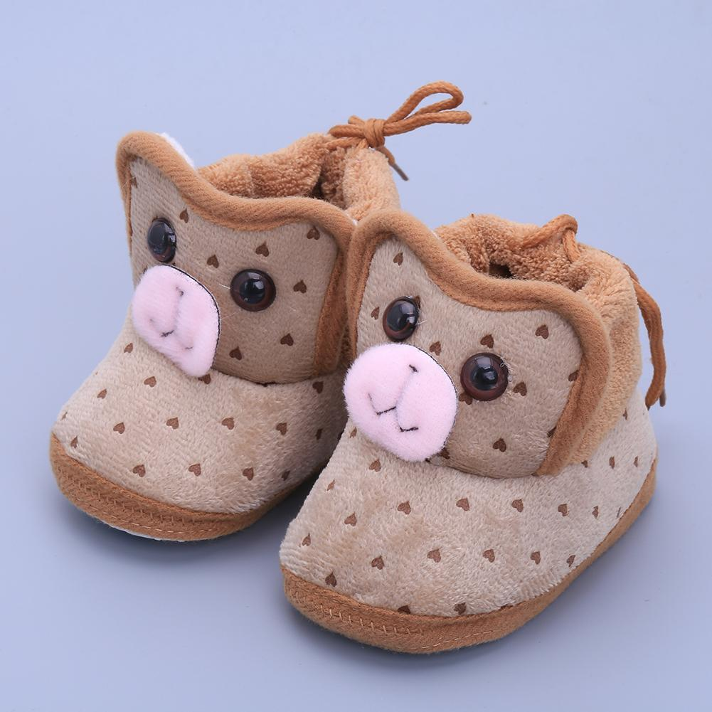 Baby's Toddlers Infants Unisex Cartoon Soft-soled Sneaker First walkers Prewalkers Boots Crib Shoes