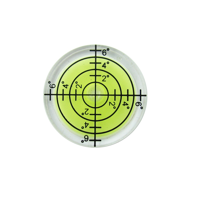 Best Selling!! 32*7MM White Green Blue Color Bullseye Bubble level Round Level Bubble Accessories for measuring instrument