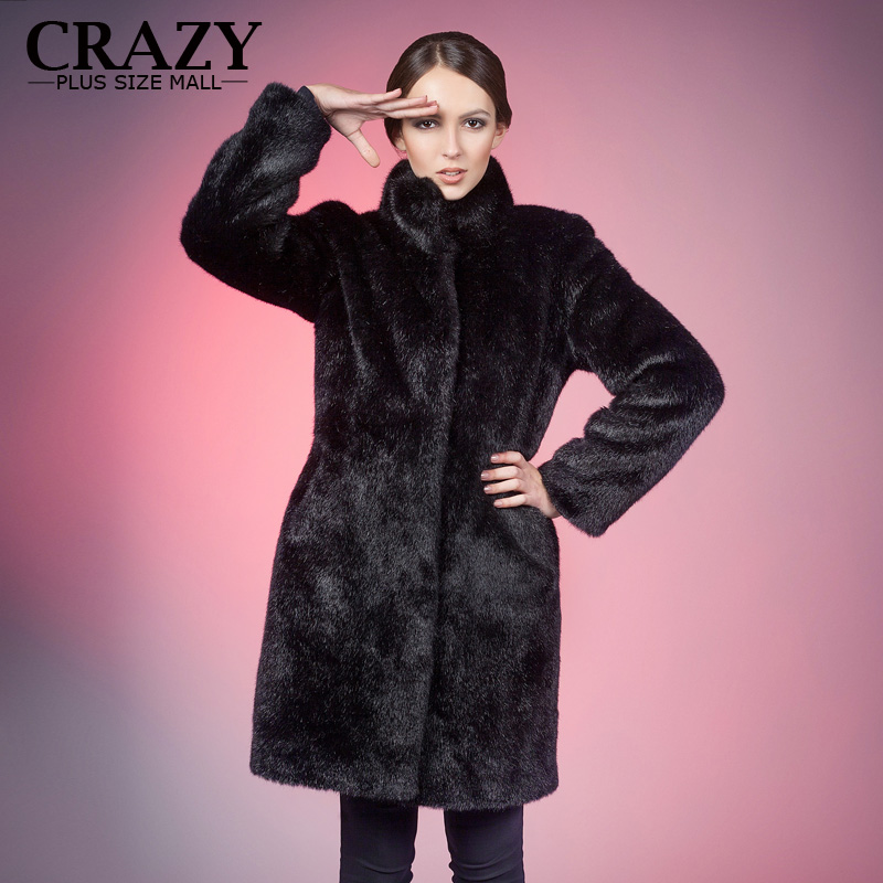 Compare Prices on Black Fur Jacket Plus Size- Online Shopping/Buy