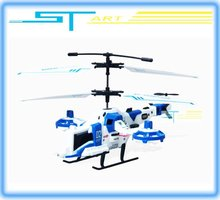 Free shipping S807 3D Flight 4CH RC Helicopter remote control toy RTF ready to fly with Gyro hot sale RC Quadcopter for kids toy