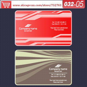 0032-05 business card template for printing paperbusiness card website business stationery(China (Mainland))