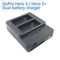 gopro battery AHDBT 302 dual battery charger for gopro rechargeable battery batteries charger Dual charging interface