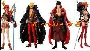 Free shipping Japana anime 4pcs one piece Sanji Zoro Nami Robin pvc figure toys tall 15cm set.fFilm vision design