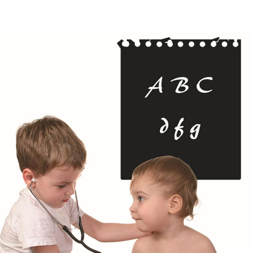 New Qualified 60cmx51cm Chalkboard Wall Sticker Creative Home Decor Adesivo De Parede dec24