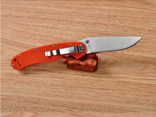 Free Shipping Ontario RAT Model 1 Outdoor Adventure And Training Folding Knife AUS 8 Blade Orange