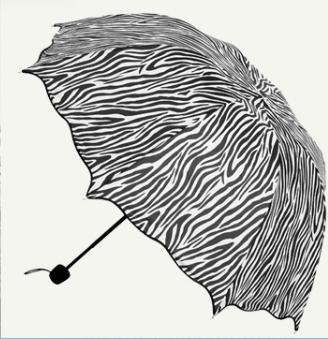 Горячая акция принцесса воланами раза арочные творческий милый зебра ясно уф-гель солнцезащитный крем радуги зонтик парасоля бесплатная доставка U0087