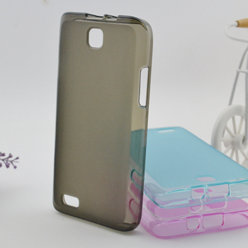 Colorful TPU Soft Case for Haier i619 Cover with Screen Protector Retail Packaging Wholesale 100pcs/lot Free Shipping