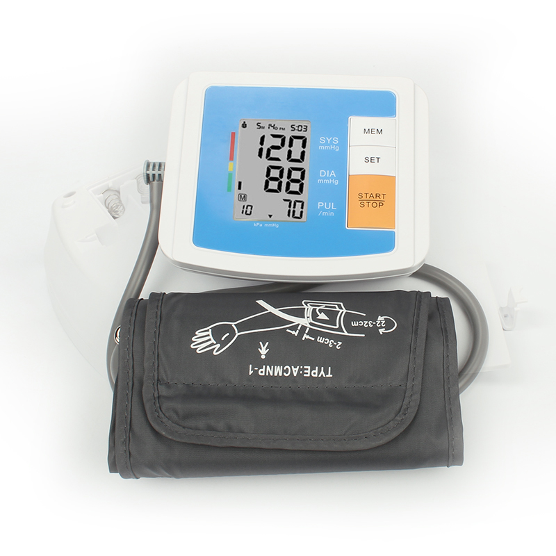 Blood Pressure Automatic Arm Blood Pressure Monitor Tensiometro Automatic Sphygmomanometer CE Approved