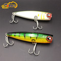 2 pcs Fishing Lures Saltwater Popper Lure Big Game Fishing Topwater BAIT Lures Japan Fishing Hooks