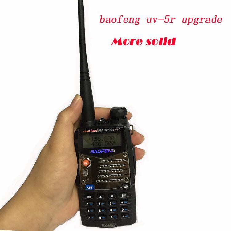 Comunicador обновление Baofeng уф-5r рация радио FM для двух 2 разъём(ов) укв радиолюбителей CB портативный радиостанция Amador