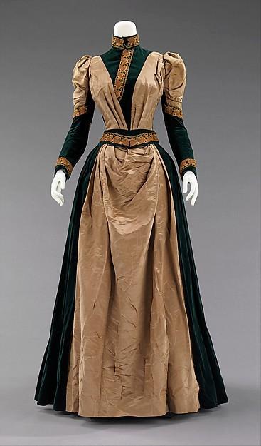 18th Century Deep Blue Elegant Dress Victorian Bustle Gowns Afternoon DressОдежда и ак�е��уары<br><br><br>Aliexpress