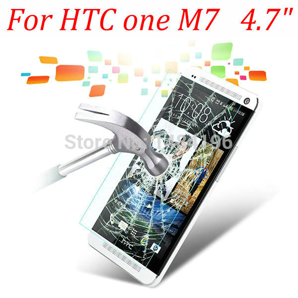 9H Tempered Glass Screen Protector Guard HTC One 10 M10 M7 M8 M8S M9 plus M9+ mini 2 Protective Film+Safety package  -  Jinfan E-Commerce Co., Ltd. store