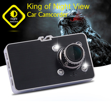 Night Vision Car Dash Car Camera 2.7inch TFT LED Screen  Road Recorder Night View King Full HD 170 Degree IR Car DVR Camera(China (Mainland))