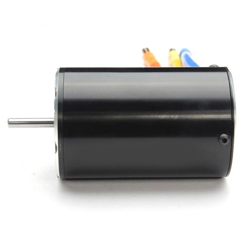 ROCKET 550 1750KV Brushless Sensorless Inductive Motor + 60A Automobile ESC Set 1/10 Scale For Rc Automobile