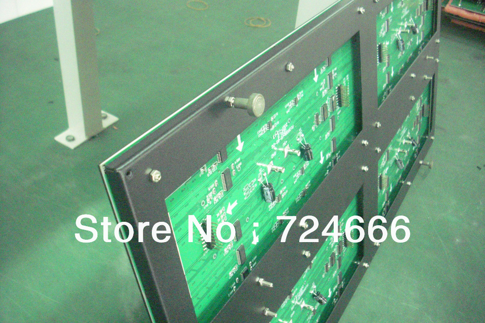 outdoor P10 high bright led display board running/scrolling ...