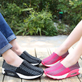 2016 Summer autumen Shoes men and women flats shoes Fashion casual for outdoor lovers Woven elastic