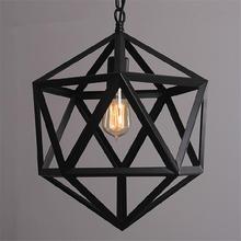 Buy Wrought Iron Loft Lamp Industrial Pendant Light Moroccan Rustic Vintage Light Fixtures Living Room Home Indoor Lighting for $79.99 in AliExpress store