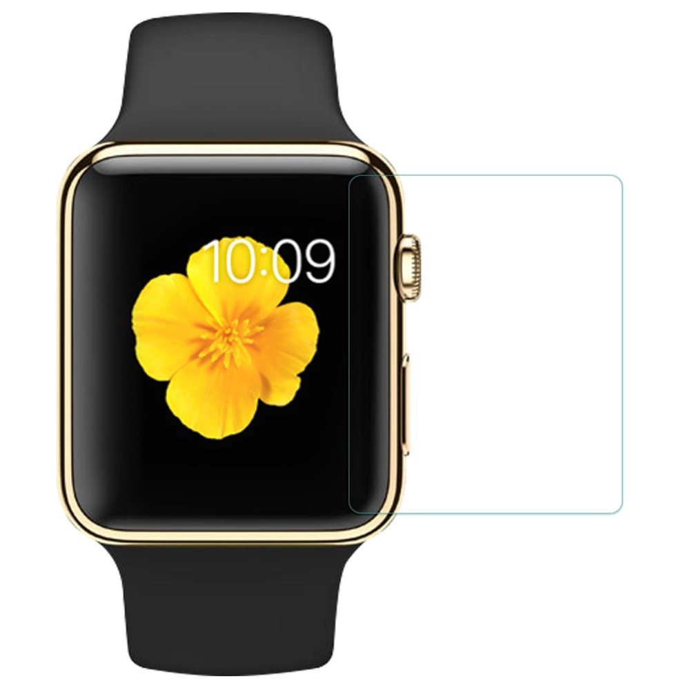 0.2mm Tempered Glass for Apple watch 42mm 2.5D Arc Edge Screen Protector with Clean Tools(China (Mainland))