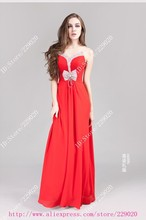 charmeuse long gown promotion