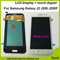 100 test high quality 1pcs white Touch Screen Digitizer lcd display Assembly 2016 version For Samsung