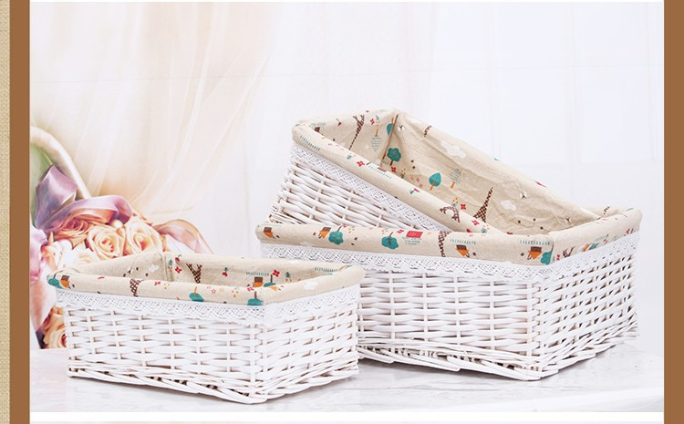 Small laundry baskets picnic basket wicker decorative - Cestas decorativas ...