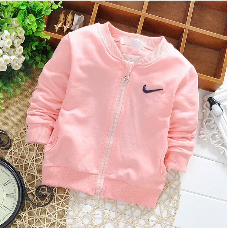 free shipping 2015 Spring Cotton Knitting Boys Girls Jackets Cardigan baby kids Coat Children clothing Outwear