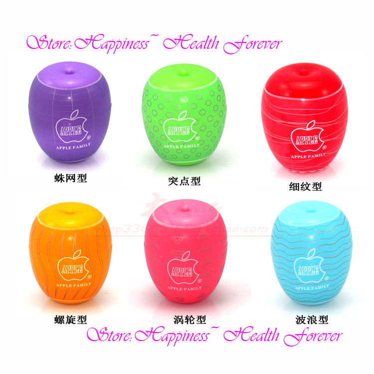 2 pcs Apple masturbation egg EG male SEx toy eggs the glans penis massage persistent exercise 6 colors aircraft cup flirting SEx(China (Mainland))