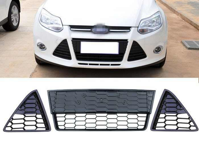 how to change front grill of ford focus 2014