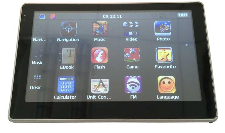 5 дюймов автомобильный GPS навигатор 8 ГБ 800 мГц FM / DDR128M с навител россия / казахстан русский  чешский  иврит  болгарский