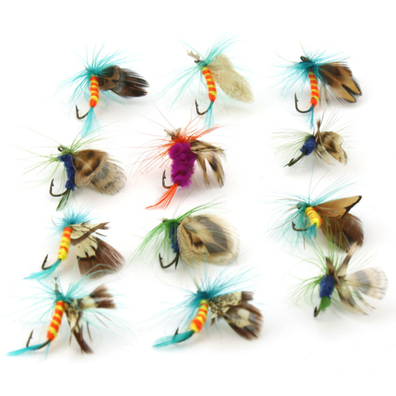 12pcs/Lot Fly Fishing Lure Wobbler For Fishing Lures Pesca Isca Artificial Fish Baits Hook Squid Jigs Spinner Bait Soft Lure(China (Mainland))