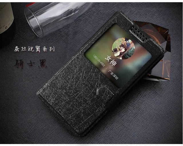 2015 New arrive fashion windows flip leather cover case For Prestigio Muze E3 PSP 3531 DUO Case + Free shipping(China (Mainland))
