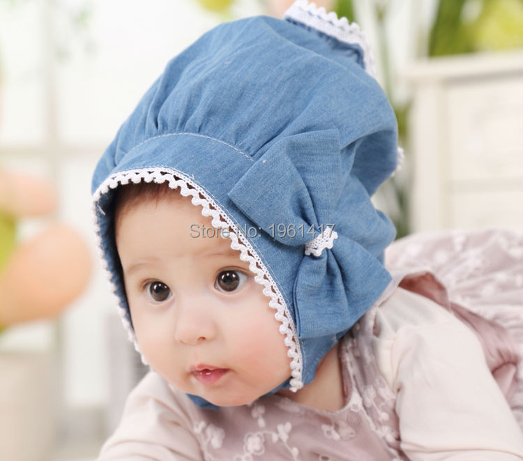 2016 Classical Lace Cap Baby Girl Dress Accessories Bonnet Patchwork Hat Custom Made - My Handmade store