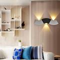 1pcs 3W Wavy Shape LED Wall Lamp Used for bedroom living room corridor bathroom 3pcs Leds