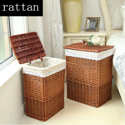Online Buy Wholesale Rattan Laundry Baskets From China