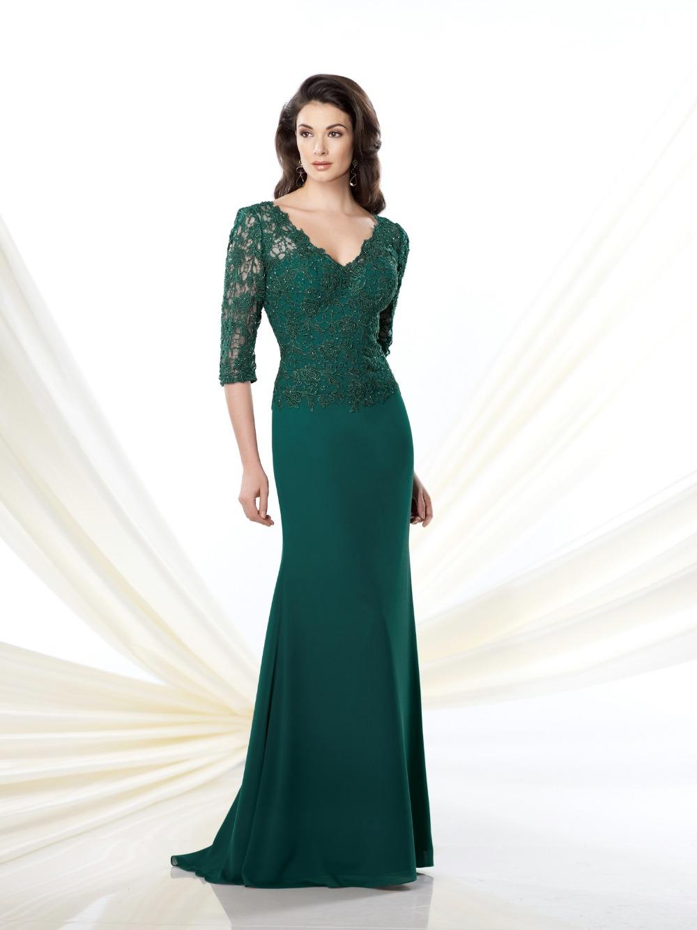 Zz371 2016 длиной до пола мать невесты платья v-образным вырезом русалка мать невесты платья