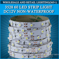 5m 300 LED 3528 SMD 12V flexible light 60 led/m,LED Strip Light, white/warm white/blue/green/red/yellow/rgb
