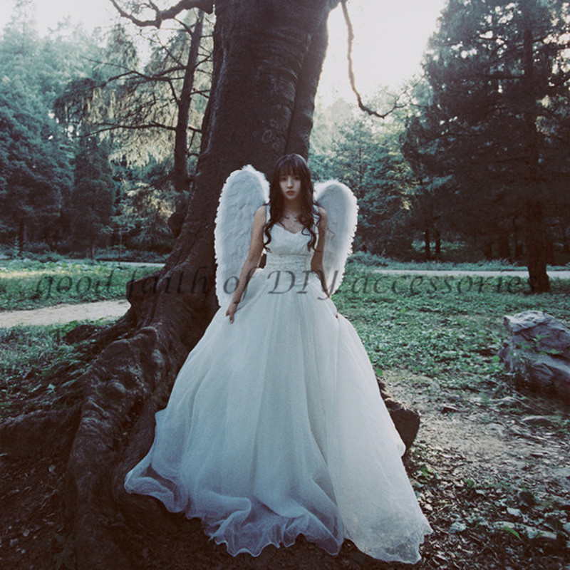 Angel wedding dress reviews online shopping angel for Angel wings wedding dress